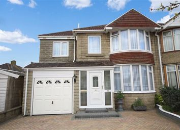 Thumbnail 4 bedroom semi-detached house for sale in Collett Avenue, Swindon, Wiltshire