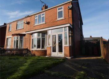 Thumbnail 3 bed semi-detached house for sale in Bushfield Road, Scunthorpe, Lincolnshire