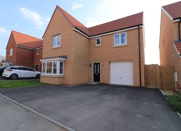 Thumbnail 4 bed detached house for sale in Roman Road, Welton, Lincoln