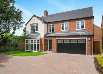 Thumbnail 5 bedroom detached house for sale in Knightswood Close, Rosliston, Swadlincote