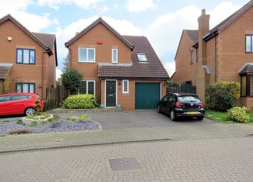 Thumbnail 4 bed detached house for sale in Lynmouth Crescent, Furzton, Milton Keynes