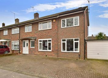 Thumbnail 3 bed semi-detached house to rent in Rother Crescent, Crawley