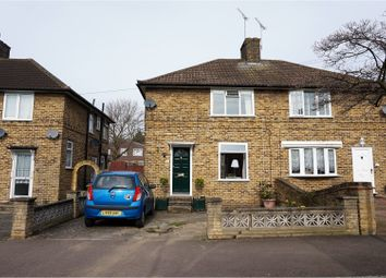 Thumbnail 2 bed semi-detached house for sale in Bernwell Road, London