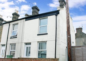 Thumbnail 2 bed end terrace house for sale in Claremont Gardens, Ramsgate, Kent