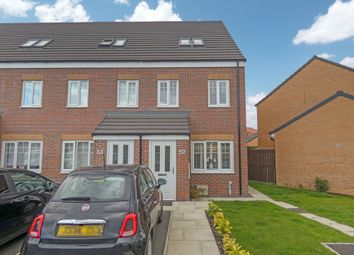 Thumbnail 3 bed town house for sale in Kirkharle Crescent, Ashington