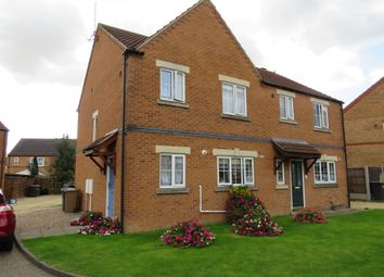 Thumbnail 3 bed semi-detached house for sale in Curlew Way, Sleaford
