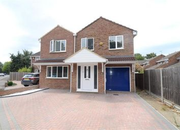 Thumbnail 4 bed link-detached house for sale in Woburn Avenue, Farnborough, Hampshire