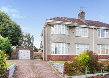 Thumbnail 3 bed semi-detached house for sale in Caebryn Avenue, Sketty