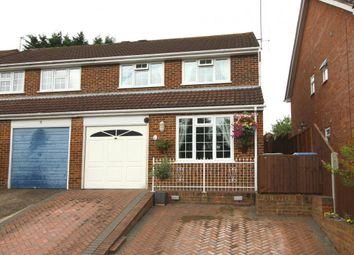 Thumbnail 4 bed semi-detached house for sale in Paul Close, Aldershot