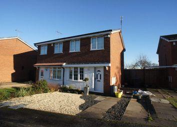Thumbnail 2 bed semi-detached house to rent in Corinium Close, Alvaston, Derby