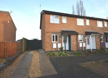 Thumbnail 2 bed end terrace house for sale in Mablowe Field, Wigston Harcourt, Leicester