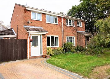 Thumbnail 3 bed semi-detached house for sale in Cardinal Way, Locks Heath