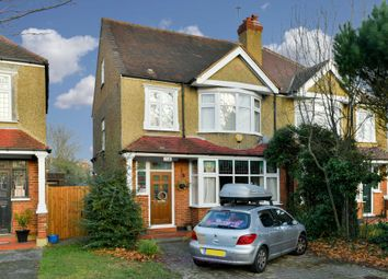 Thumbnail 4 bed semi-detached house to rent in Cheam Common Road, Worcester Park