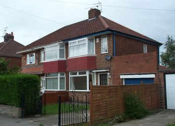Thumbnail 2 bedroom semi-detached house to rent in Reighton Avenue, York