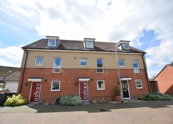 Thumbnail 3 bed terraced house for sale in Costessey, Norwich