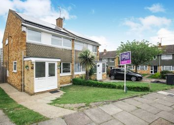 Thumbnail 3 bed semi-detached house for sale in Holgate Drive, Luton