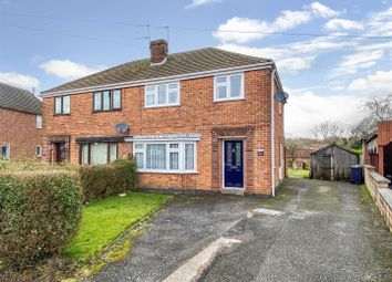 3 bed semi-detached house for sale in Peterfield Road, Whitwick, Leicestershire LE67