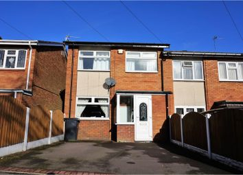 Thumbnail 3 bed end terrace house for sale in Priory Field Close, Coseley, Bilston