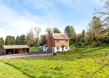 Thumbnail 3 bed detached house for sale in Hoe Lane, Abinger Hammer, Dorking, Surrey
