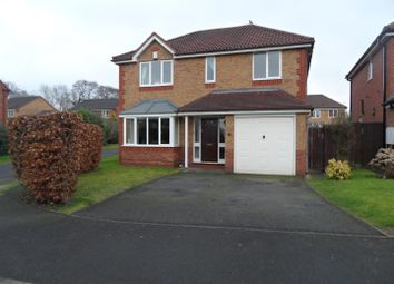 Thumbnail 4 bed detached house for sale in Cedarwood Drive, Muxton, Telford