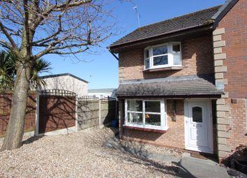 Thumbnail 2 bed terraced house for sale in Ward Close, Penrhyn Bay, Llandudno