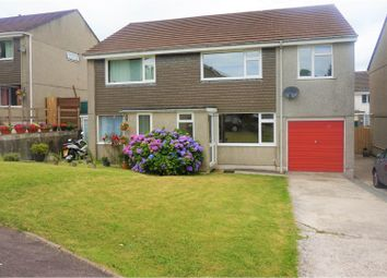 Thumbnail 3 bed semi-detached house for sale in Sycamore Avenue, Tavistock