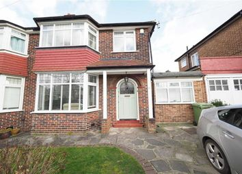 Thumbnail 4 bed semi-detached house for sale in Bushmoor Crescent, Shooters Hill, London