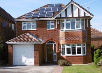 Thumbnail 4 bed detached house for sale in Brooke Close, Ewloe, Deeside, Flintshire