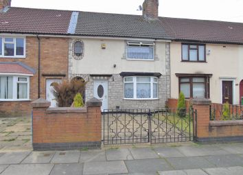 Thumbnail 3 bed terraced house for sale in Waresley Crescent, Walton, Liverpool