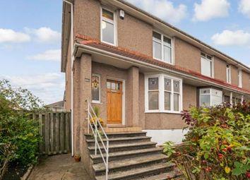 Thumbnail 3 bed end terrace house for sale in Aikenhead Road, Glasgow, Lanarkshire