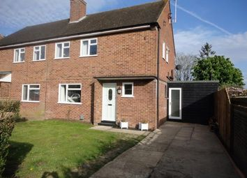 Thumbnail 3 bed semi-detached house for sale in Queens Road, Ampthill, Bedford, Bedfordshire