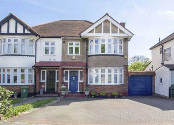 Thumbnail 3 bedroom semi-detached house for sale in Elmbridge Avenue, Berrylands, Surbiton
