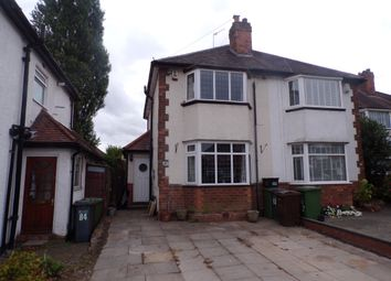Thumbnail 3 bed semi-detached house for sale in Barn Lane, Olton, Solihull