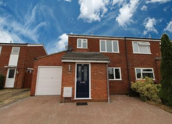 Thumbnail 3 bed semi-detached house for sale in Vandyke Close, Woburn Sands, Milton Keynes