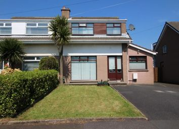 Thumbnail 4 bedroom semi-detached house for sale in Tern Crescent, Carrickfergus