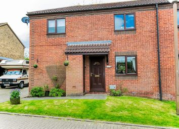 Thumbnail 3 bedroom semi-detached house for sale in Burghley Court, Great Holm, Milton Keynes