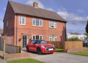 Thumbnail 3 bed semi-detached house for sale in Cambo Drive, Cramlington