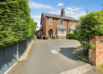 Thumbnail 4 bed semi-detached house for sale in Altrincham Road, Wilmslow