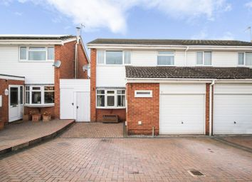 Thumbnail 3 bedroom semi-detached house for sale in John Mcguire Crescent, Binley, Coventry