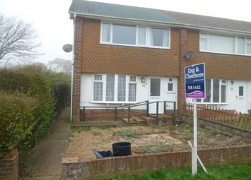 Thumbnail 3 bed end terrace house for sale in Bannings Vale, Saltdean, Brighton, East Sussex