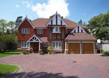 Thumbnail 5 bed detached house to rent in Old Woking Road, Pyrford
