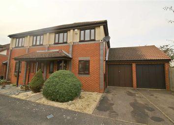 Thumbnail 3 bed semi-detached house to rent in Wallmead Gardens, Loughton, Milton Keynes