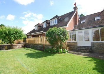 Thumbnail 5 bedroom detached house to rent in Borough Green Road, Wrotham, Sevenoaks