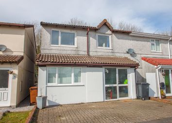 Thumbnail 4 bed semi-detached house for sale in Ferndale Close, Woolwell, Plymouth