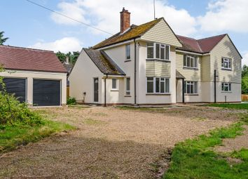 Thumbnail 4 bed detached house for sale in Lynford Road, Mundford, Thetford