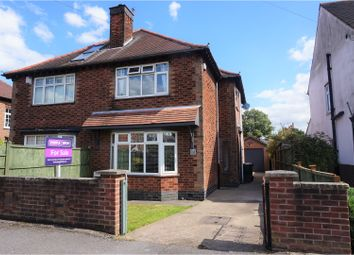 Thumbnail 3 bed semi-detached house for sale in Roseleigh Avenue, Nottingham