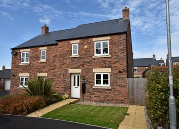 Thumbnail 3 bed semi-detached house for sale in Davos Drive, Biddulph, Stoke-On-Trent