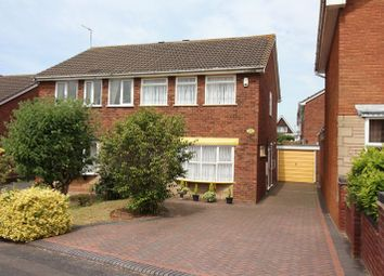 Thumbnail 3 bed semi-detached house for sale in Rokewood Close, Kingswinford
