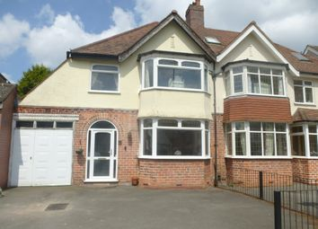 Thumbnail 3 bedroom semi-detached house for sale in Ingestre Road, Hall Green, Birmingham