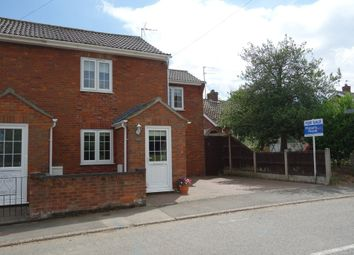 Thumbnail 3 bed semi-detached house for sale in Chapel Road, Wrentham, Beccles
